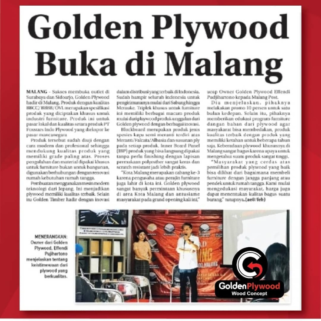 Golden Plywood malang